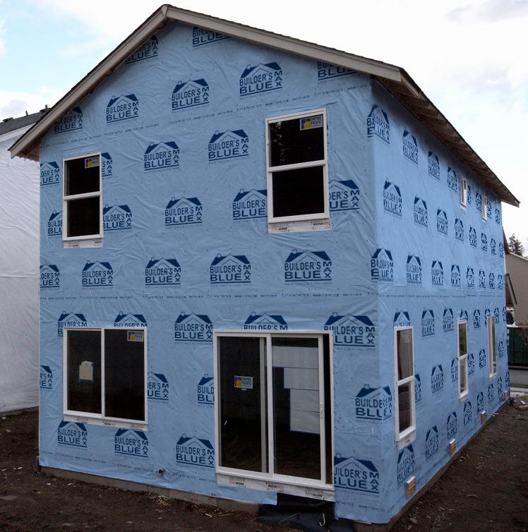 Builder's Blue MAX Building Wrap – FT Synthetics
